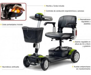 Scooter electrico desmontable Eclipse