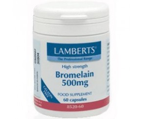 LAMBERTS Bromelina 500mg 60 caps.
