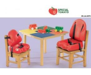 ASIENTO POSTURAL BLANDO SPECIAL TOMATO - AYUDAS DINAMICAS