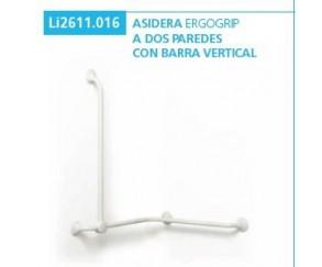 ASIDERA ERGOGRIP A 2 PAREDES + BARRA VERTICAL - AYUDAS DINAMICAS.